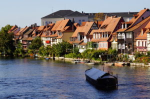 Bamberg view of the river Regnitz