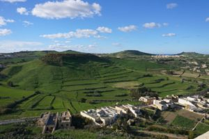 Green Gozo in the Mediterranean Winter