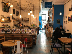 Artysana Café with wifi in Valencia