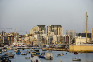 View on Sliema