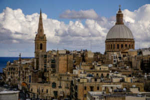 Valletta view , two years in Malta Locally Abroad