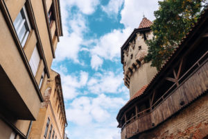 Sibiu architecture defense towers
